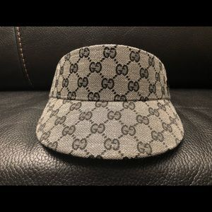 Gucci Accessories - Gucci monogram visor hat f288d5ffba35